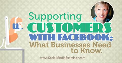 podcast 153 mari smith customer support on facebook