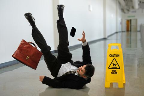 slippery floor image shutterstock 199446704