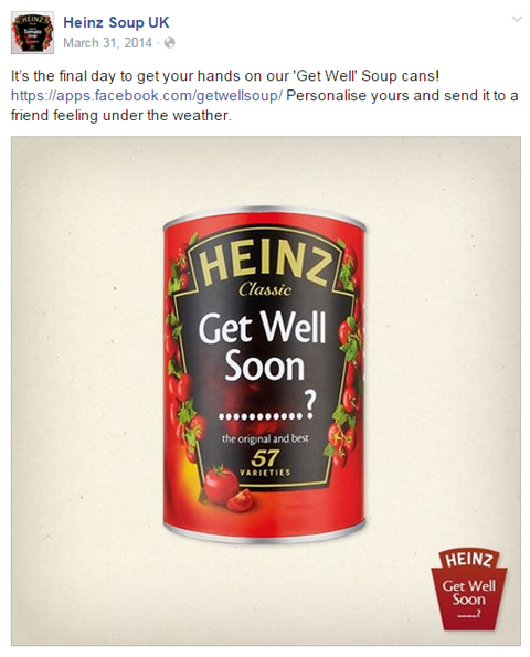 heinz soup get well image