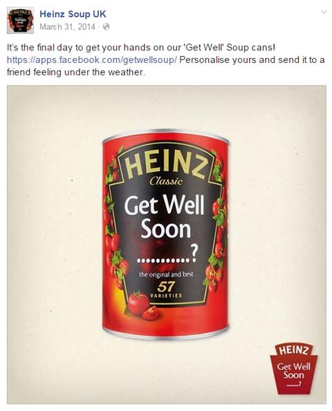 heinz soup get well image