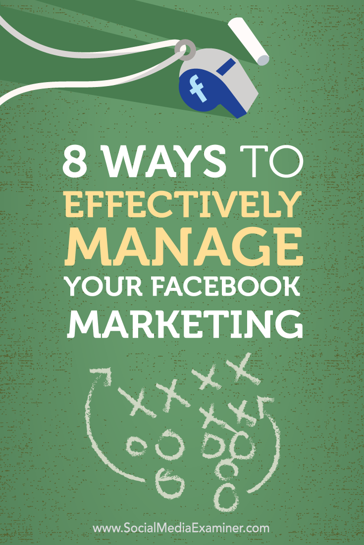 manage facebook marketing