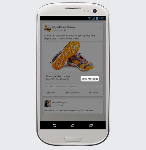 facebook page messenger