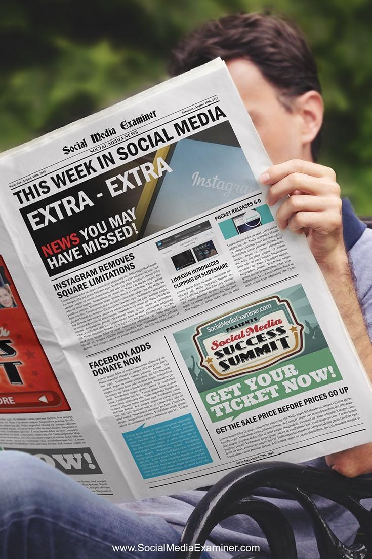 social media examiner weekly news august 29 2015