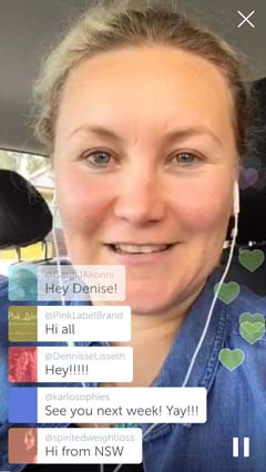 periscope broadcast screenshot