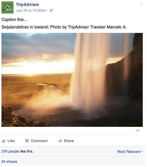 tripadvisor user generated content post