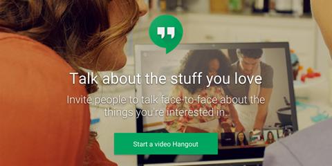 google+ video hangouts image
