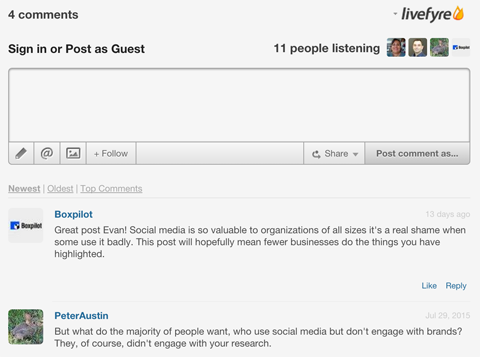 How To Choose The Best Comment System For Your Blog Social Media