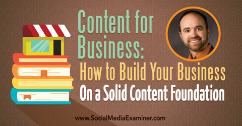 podcast 159 joe pulizzi content marketing for business