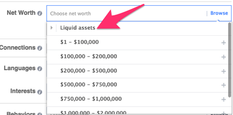 liquid assets targeting