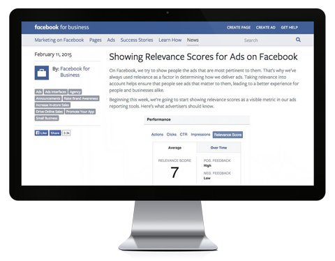 facebook ad relevance webpage placeit image