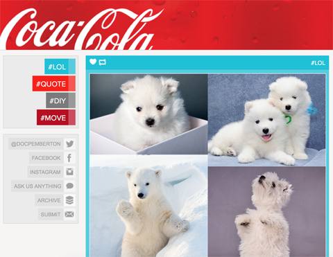 coca-cola national polar bear day post
