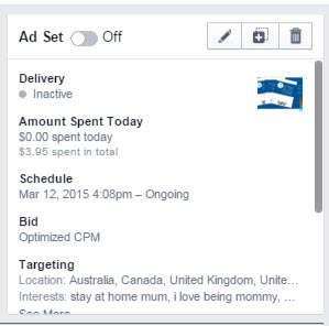 facebook ads manager edit ad set