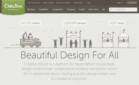 creative market platform