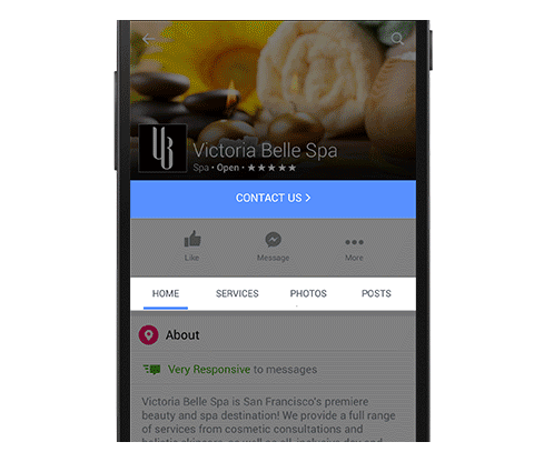 facebook for business update to pages