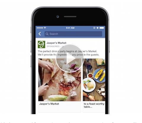 facebook video in carousel ads