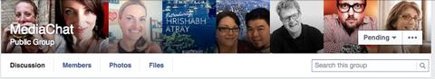 mediachat facebook group