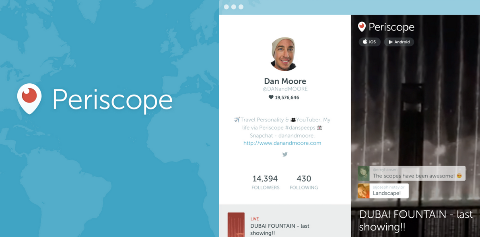periscope web profiles