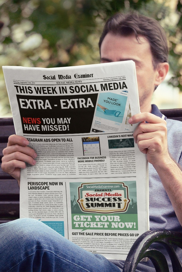social media examiner weekly news september 12 2015