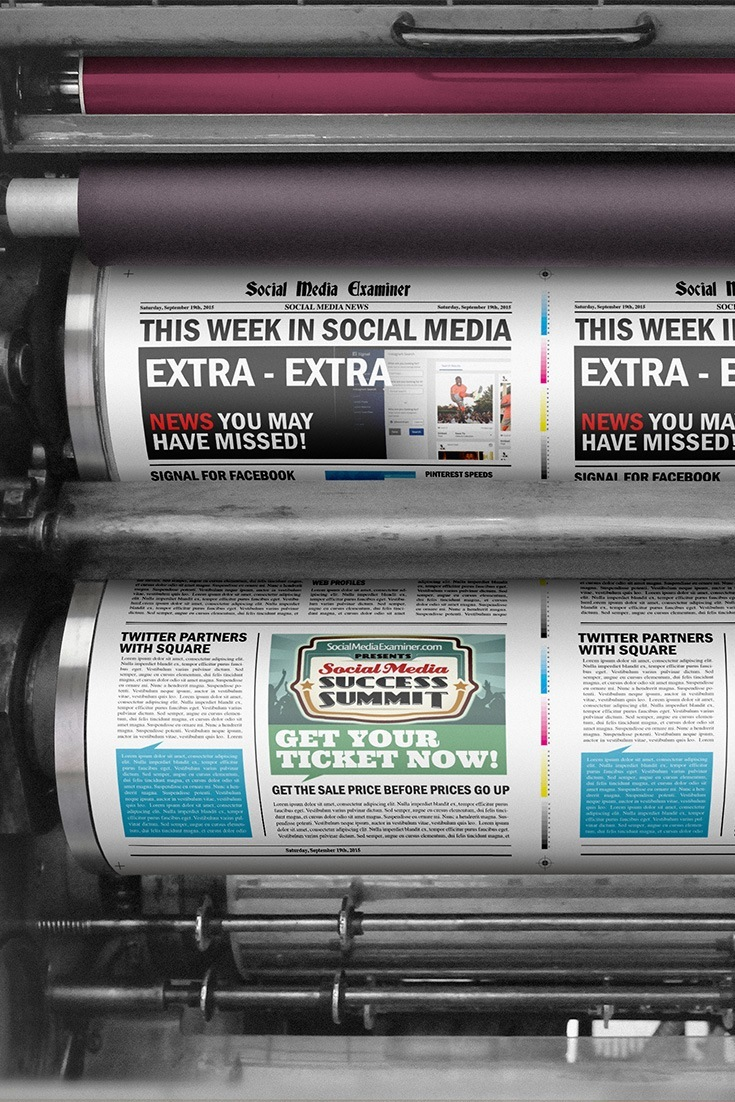social media examiner weekly news september 19 2015