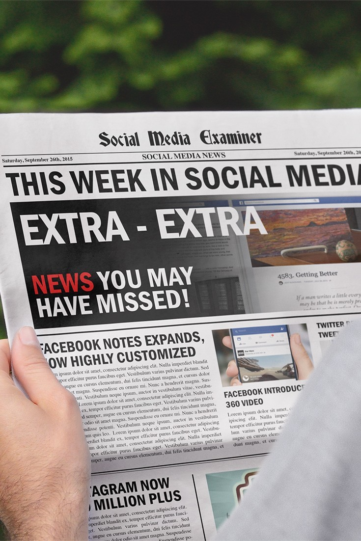 social media examiner weekly news september 26 2015