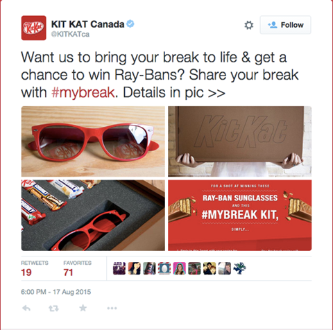 kitkat tweet