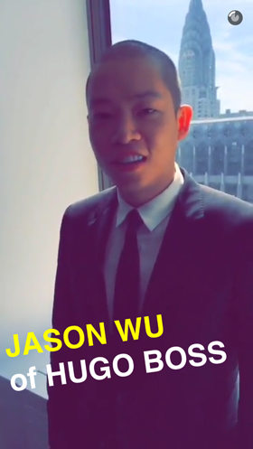new york fashion week snapchat