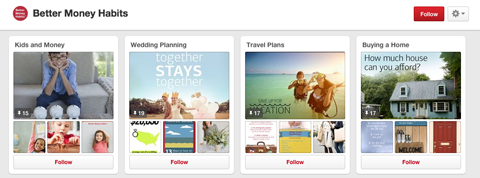 bank of america pinterest board
