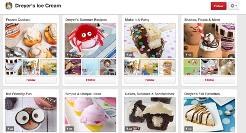 dreyer ice cream pinterest boards