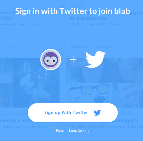 twitter sign up image