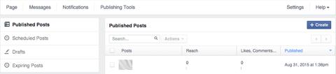 page publishing tools image