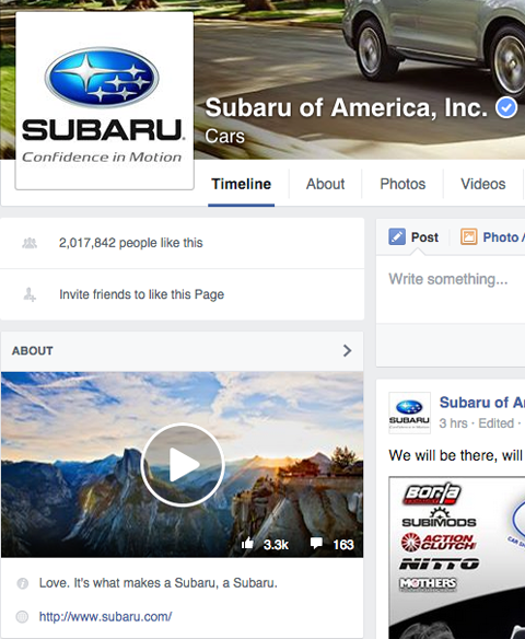 subaru featured video image