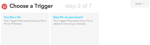 ifttt redirect to twitter profile trigger