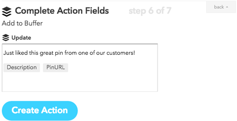 ifttt redirect to twitter profile action