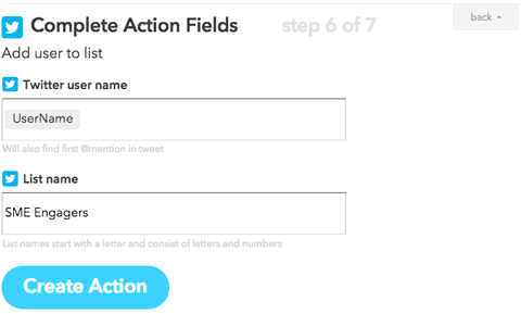 ifttt instagram crosspost action configuration
