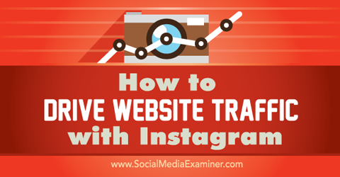 drive website traffic with instagram