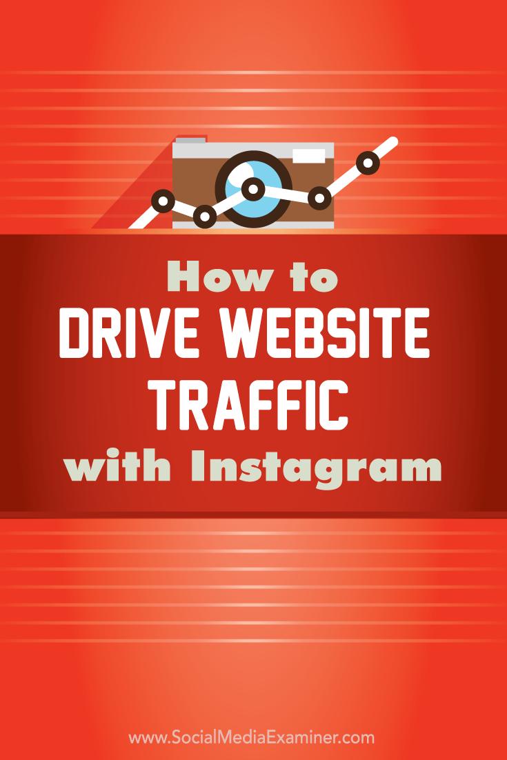Wie man den Website-Verkehr mit Instagram steigert