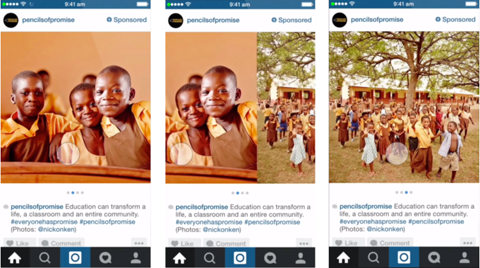 instagram carousel ad