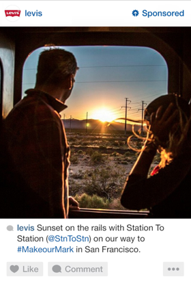 levis instagram ad