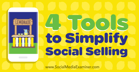 four social selling tools