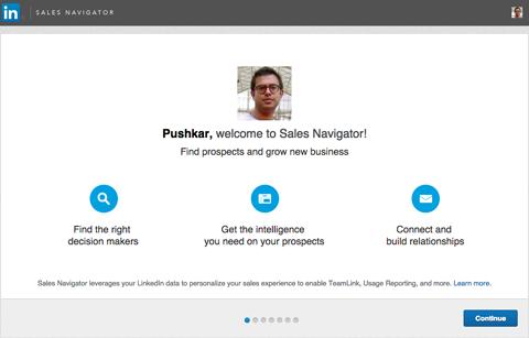 linkedin sales navigator preferences