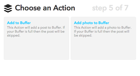 ifttt choose action