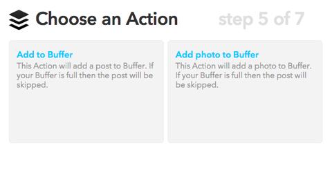 ifttt choose action