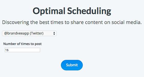 buffer optimal timing tool quantity suggestions