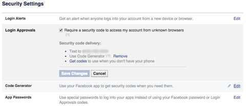 facebook login approval feature