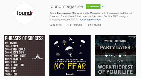Foundr on Instagram