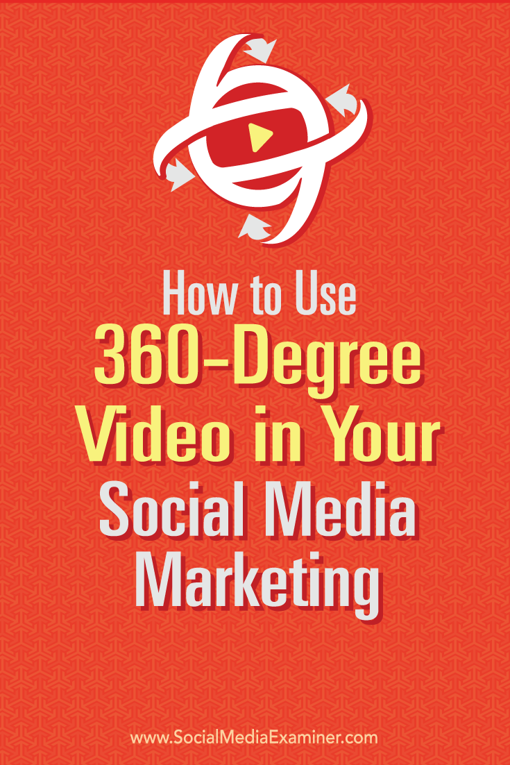 how to use 360 video for social media marketing