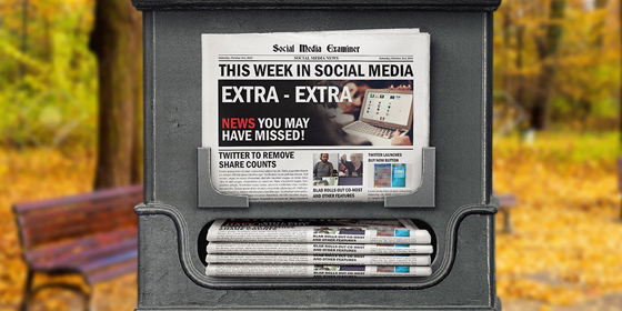 Twitter to Remove Share Counts: This Week in Social Media