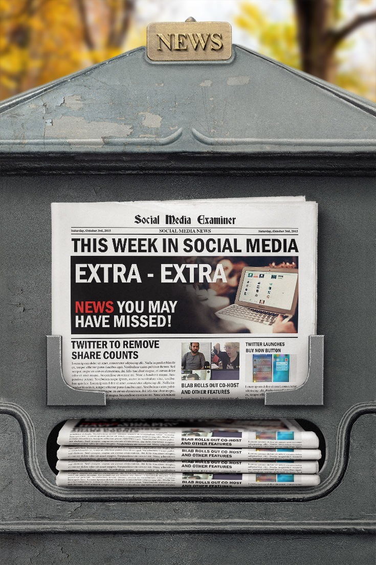 social media examiner weekly news october 3 2015