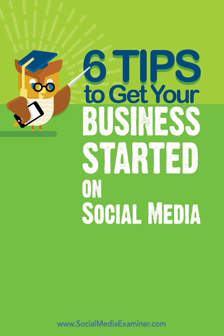 how to get your business started on social media