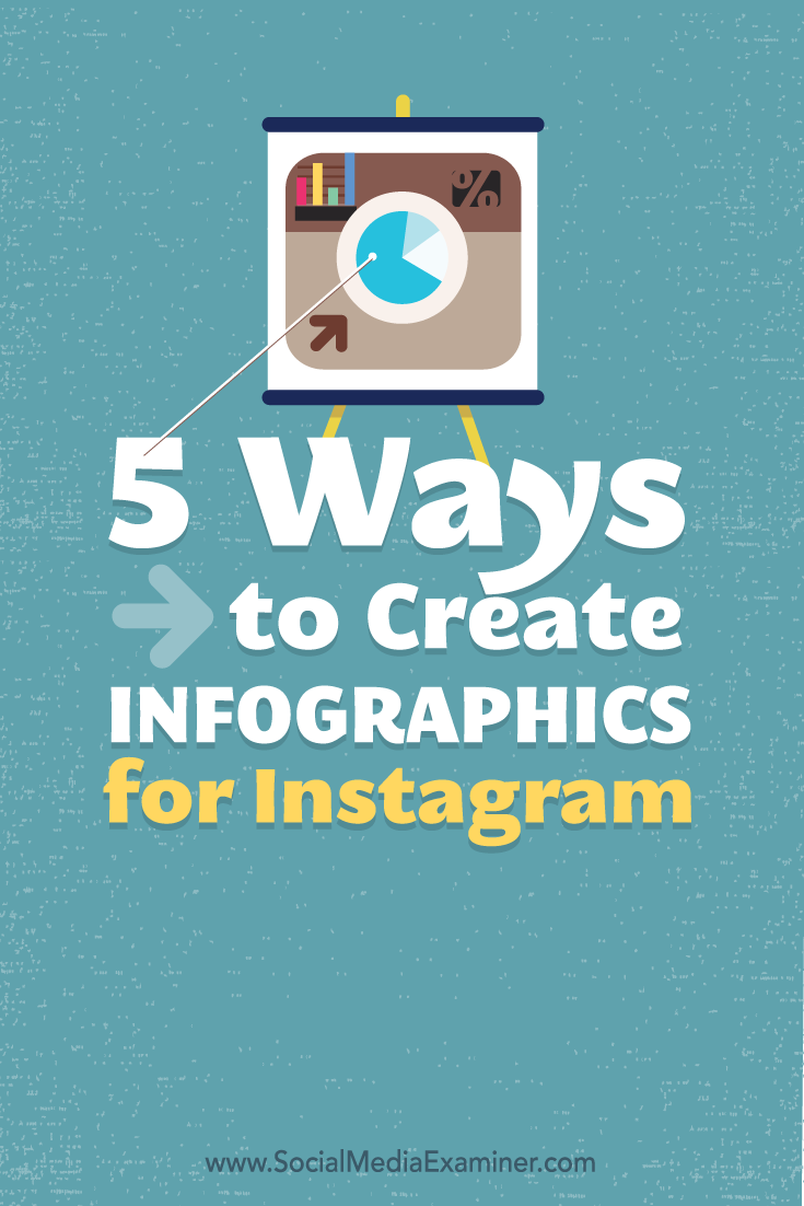 5 Ways To Create Infographics For Instagram : Social Media